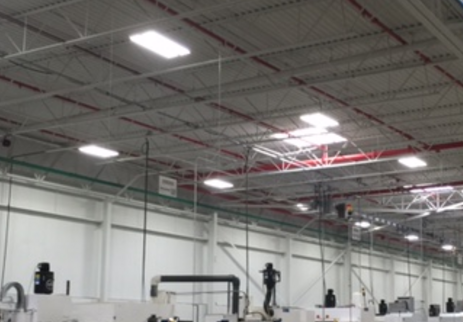 High Bay Retrofit saved 62^ in energy costs with a 16 mth ROI