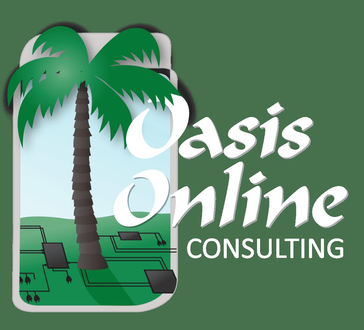 Oasis Online Logo white