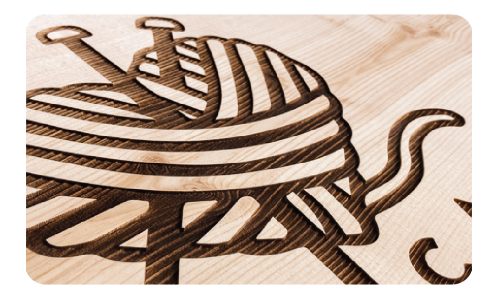 Image of engraved wood.