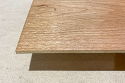 Specialty wood for signs