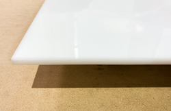 White acrylic for signage substrate