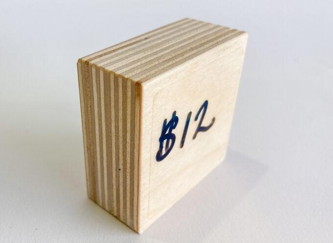 Plywood dry erase board