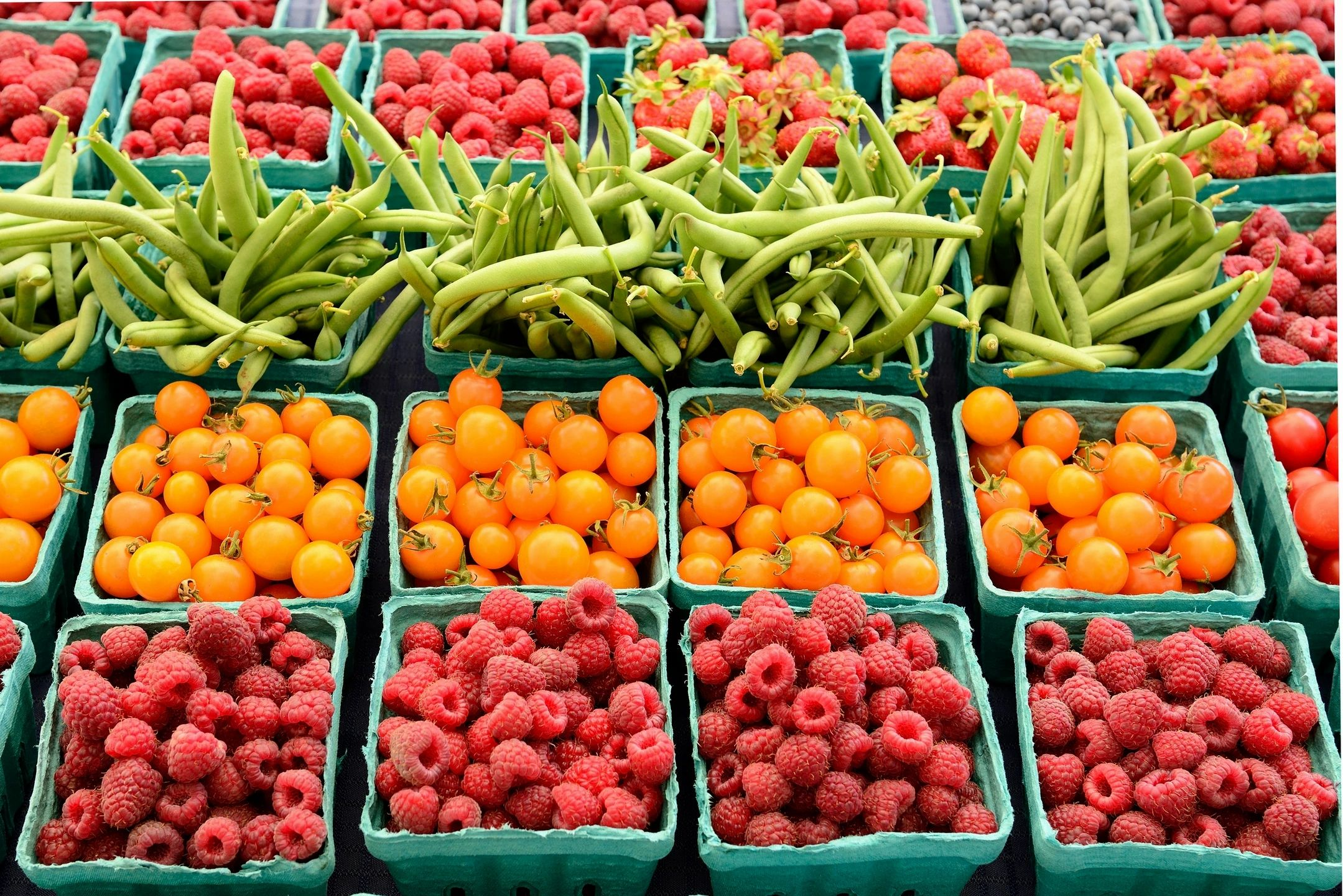 This is Idaho – Produce in the Early Months of Farmers Market