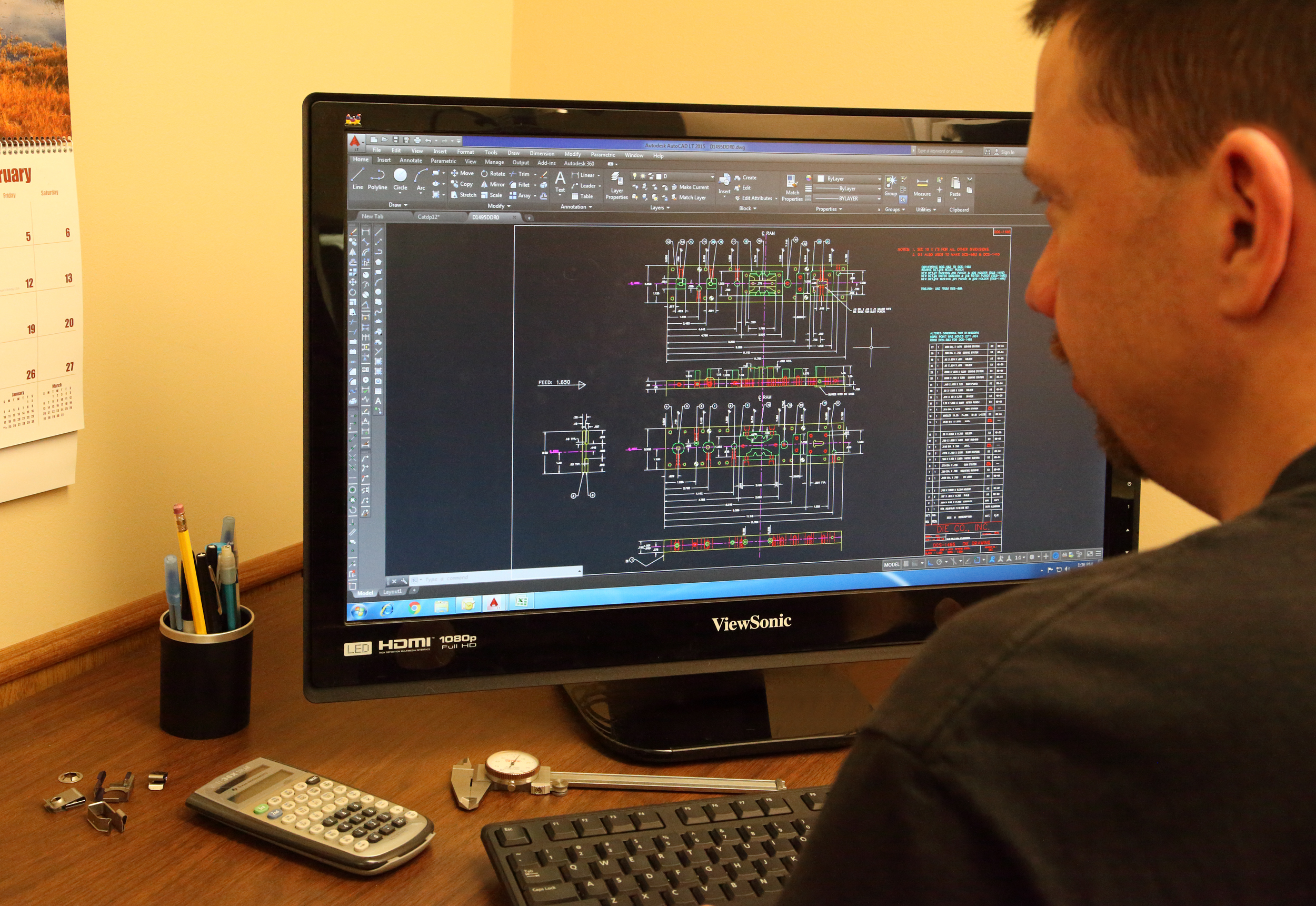 Engineering services from Die Co., Inc.