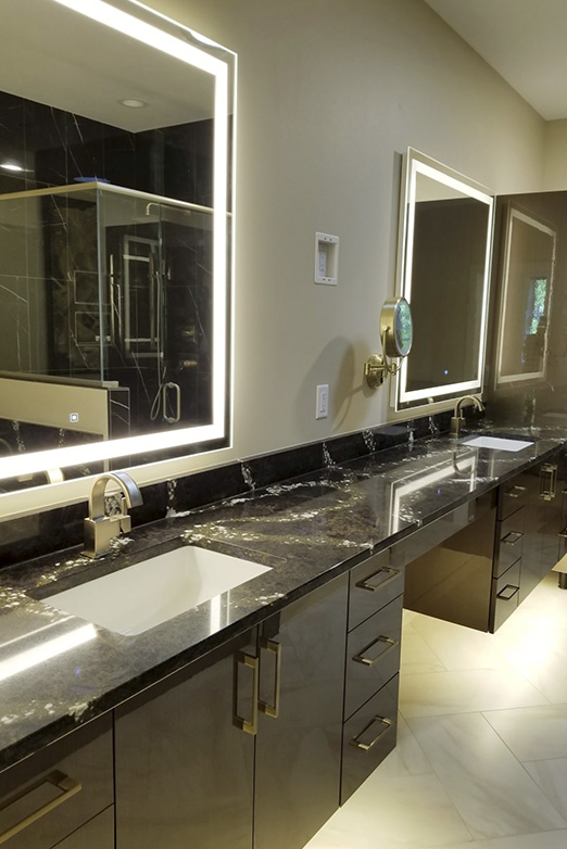 Emily Hughes Portfolio: Glamorous Modern Townhome