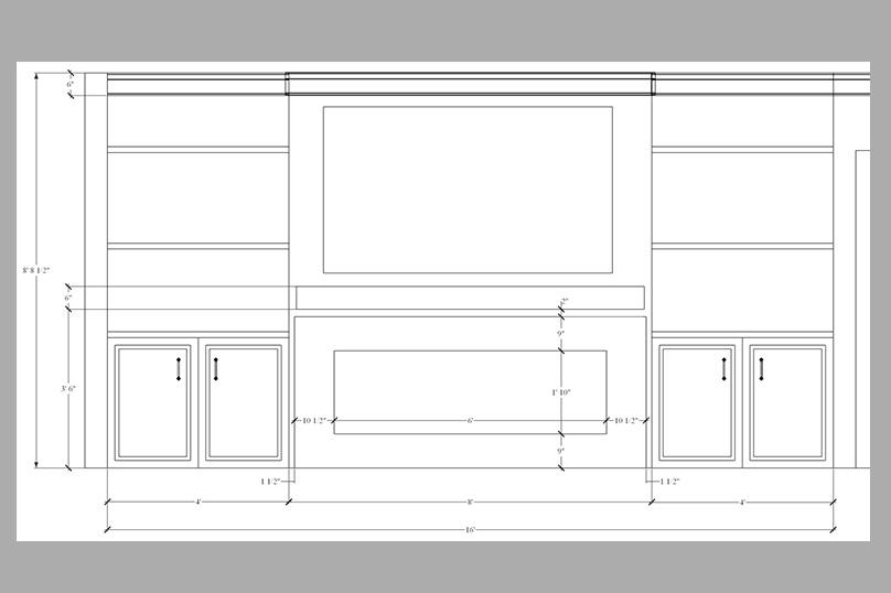 Fireplace Surround Design Measurements
