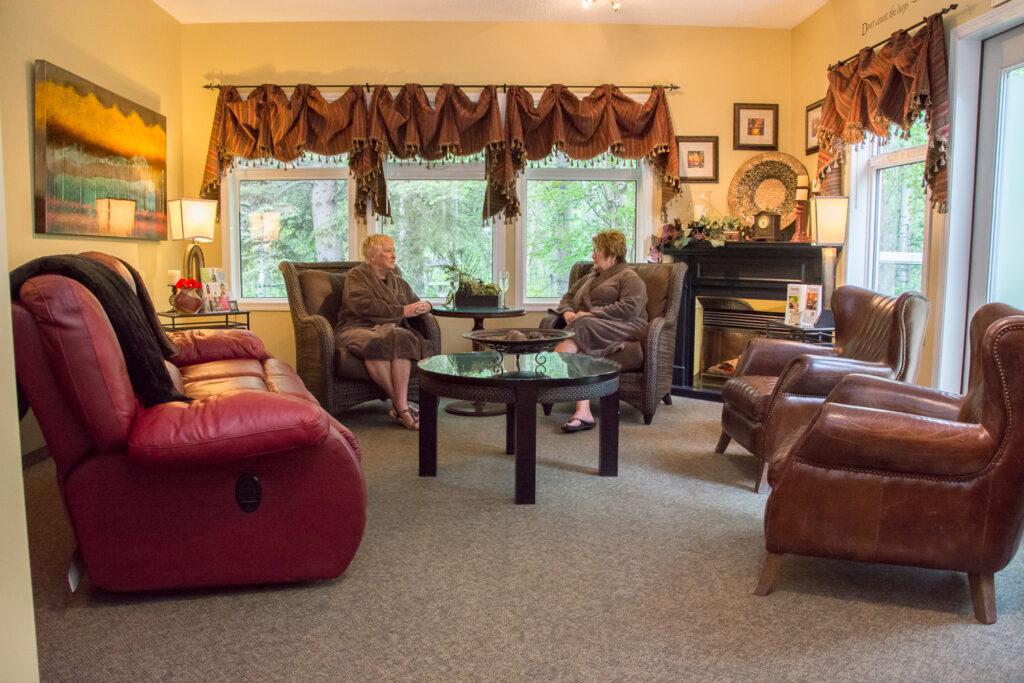 Essentials Spa Sitting Room