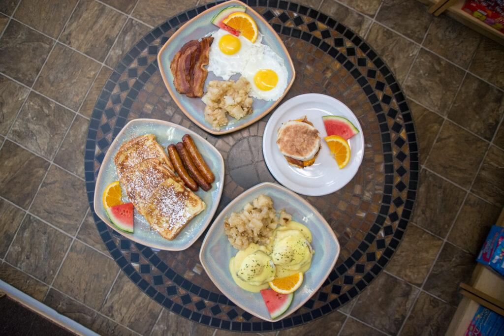 Daisy McBean's Breakfast Spread