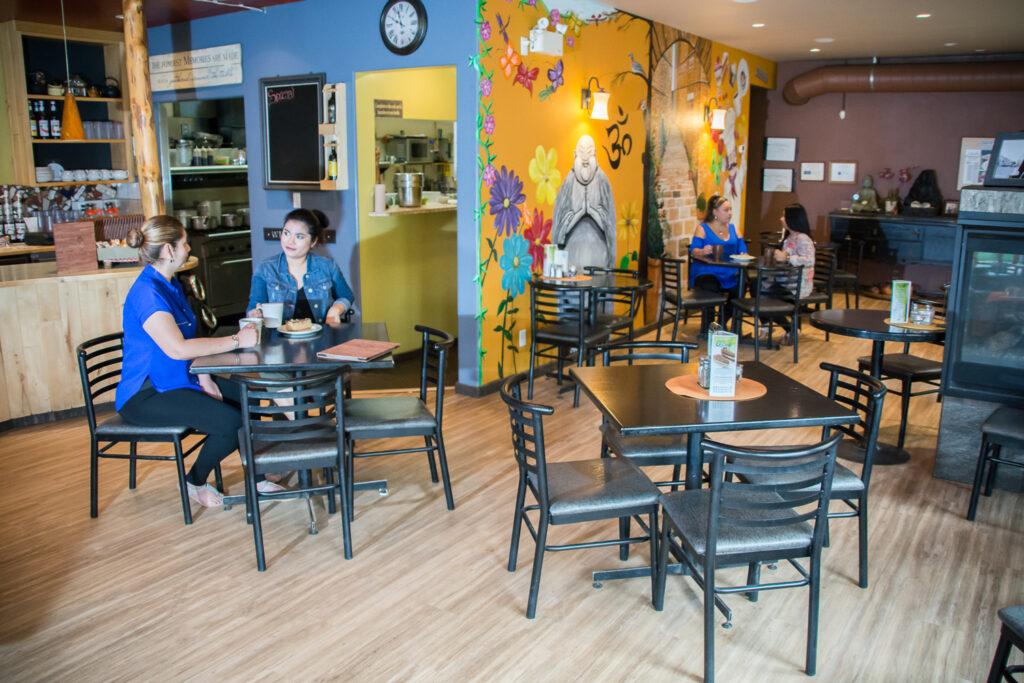 ECO Cafe Sitting Area