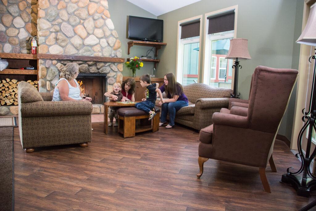 Country Inn Living Area