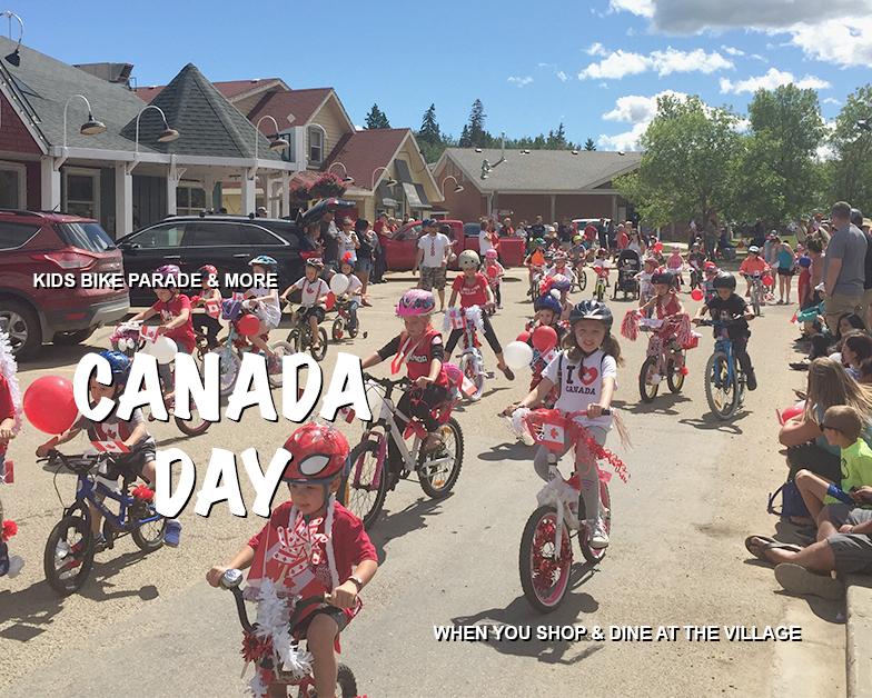 Canada Day Kids Bike Parade Event