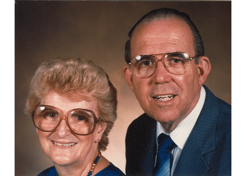 Mark and Huldah Buntain