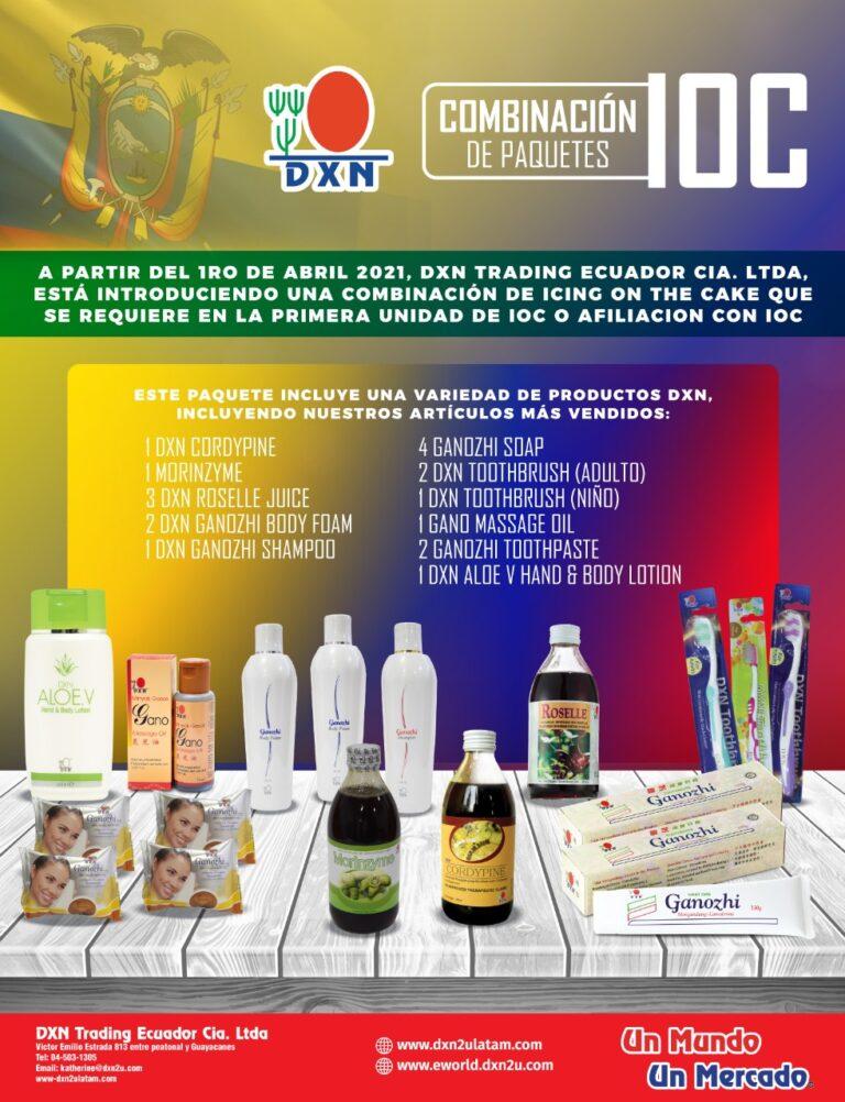 primer IOC DXN ecuador