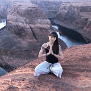Carolyn Blackmon, 500 HR Certified Yoga Teacher | 60 HR Certified Trauma-Informed Yoga Instructor | Workshop Specialist.