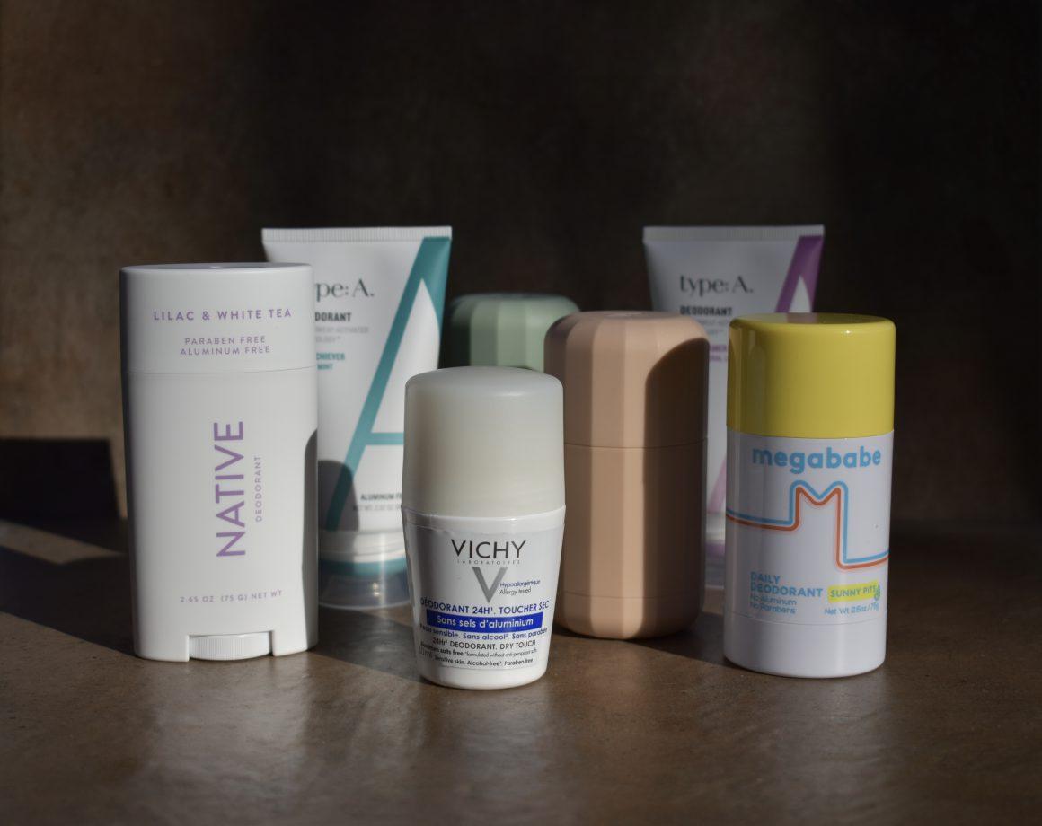 Natural Deodorant, Native Deodorant, Myro Deodorant, Type A Deodorant, Megababe Deodorant