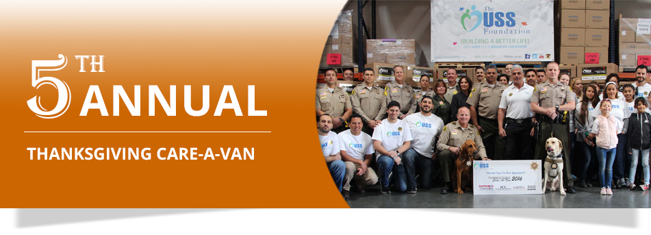 5th Annual Care-A-Van Landing Page Banner