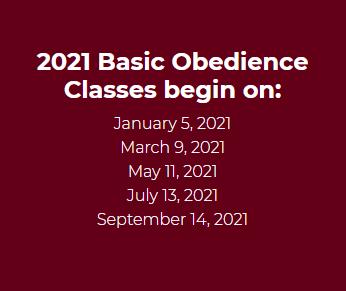 IOTC Obedience class Dates