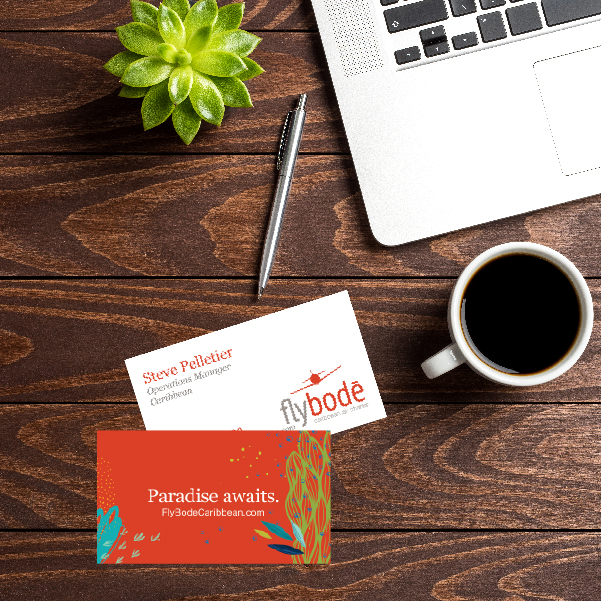 Fly Bode Brand Business Cards