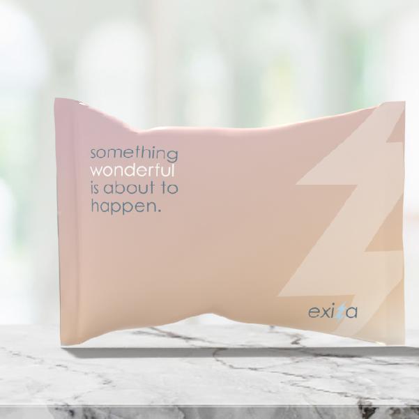 Exiza Brand Poly Mailer Design