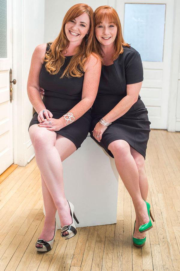Megan Helvie and Ellen Gallegos