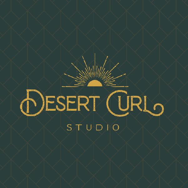 Brand Project Desert Curl Studio Logo Design by Sparrow Creative Studio