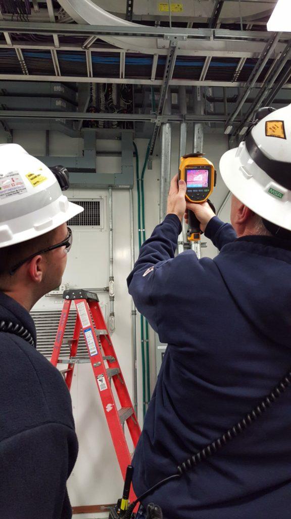 IR inspection