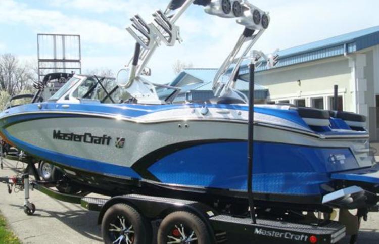 Boat Launch - Boat Trailer
