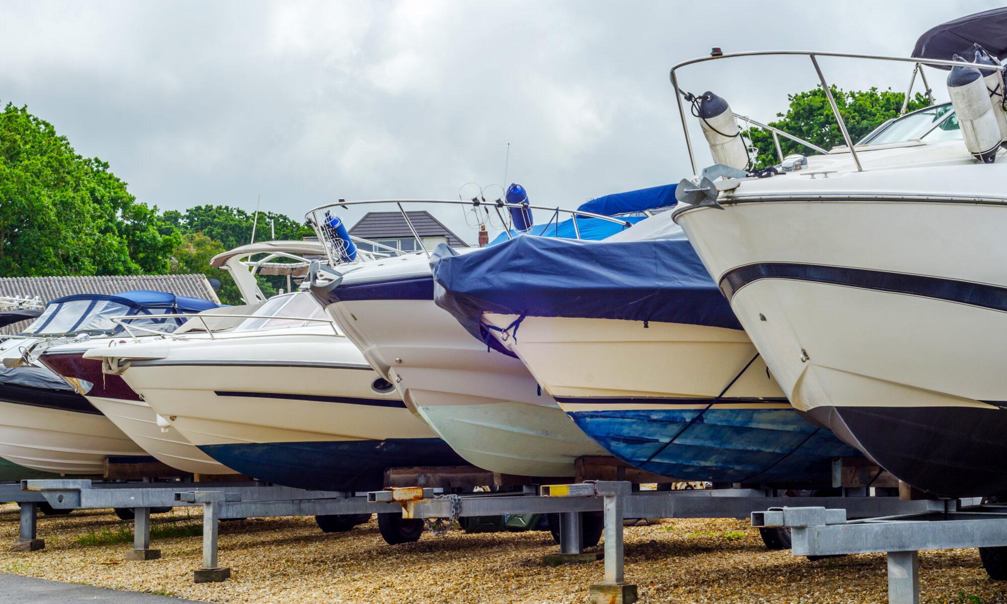 Outdoor Boat Storage