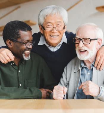 group of elders laughing