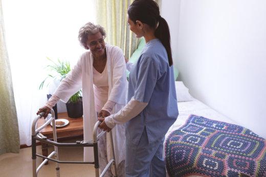 Senior Care: Getting Back on Their Feet