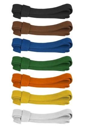 Karate belt colors