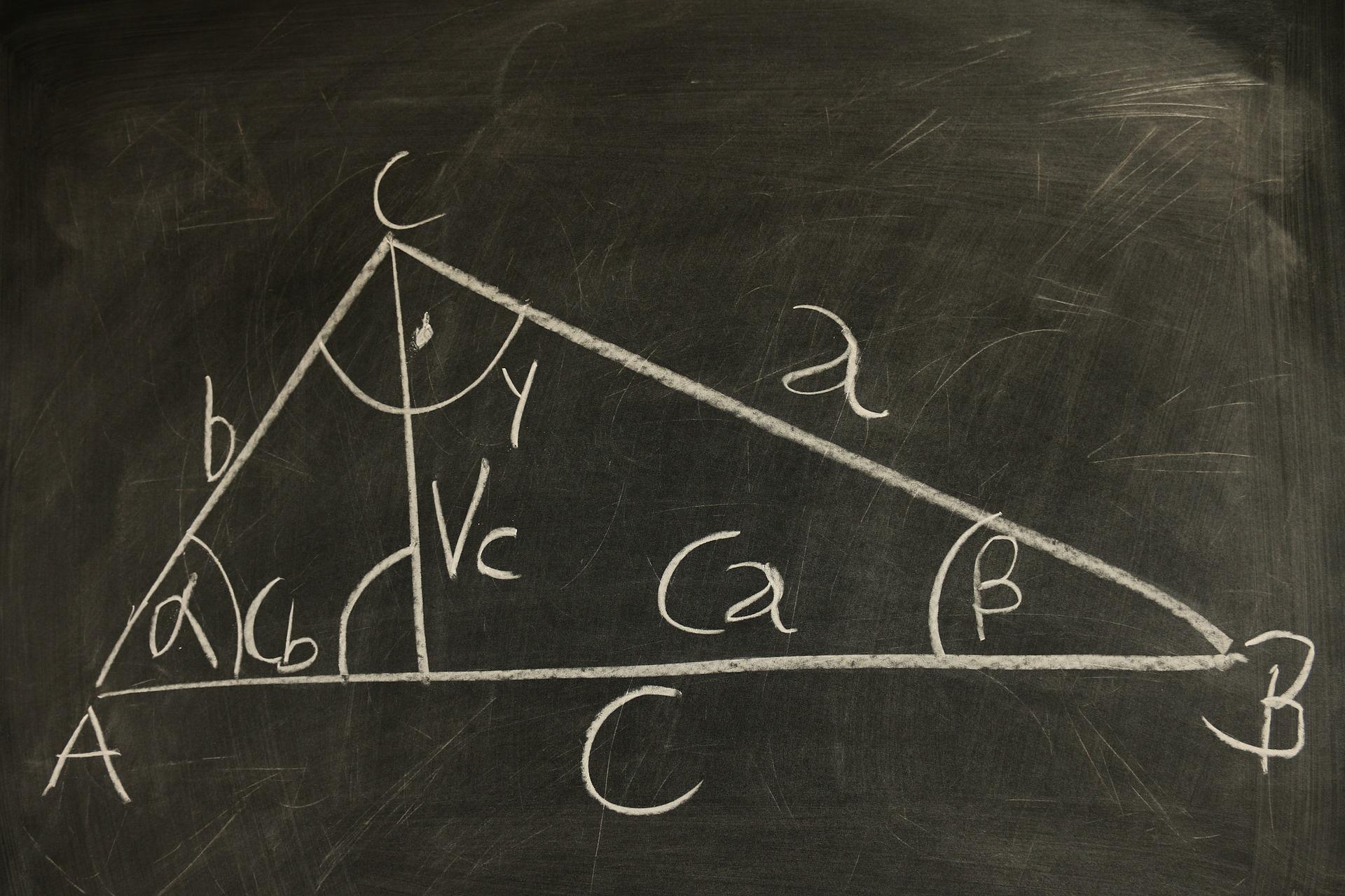 right angle quadratic equation