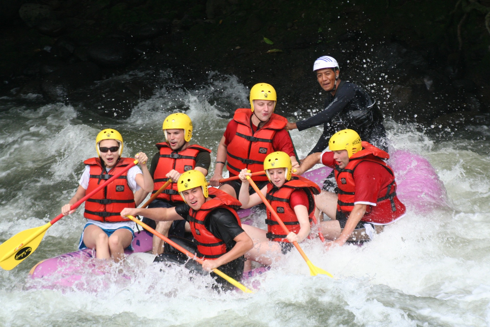 exciting like river rafting