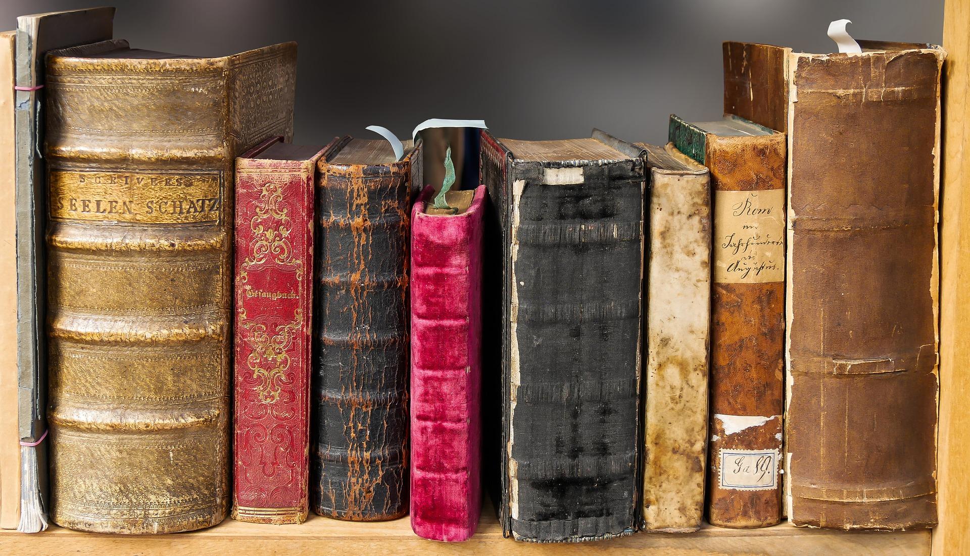 antiquated books