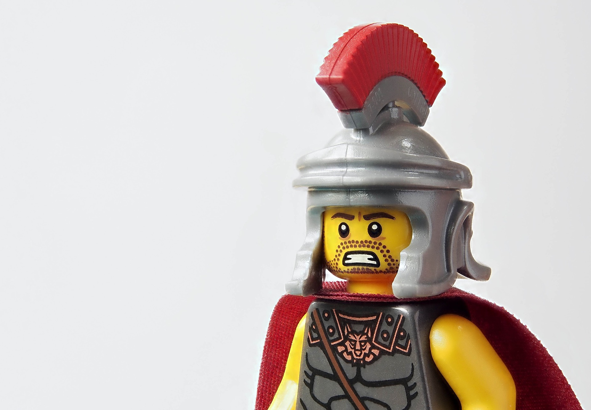 lego toy representing child in armor