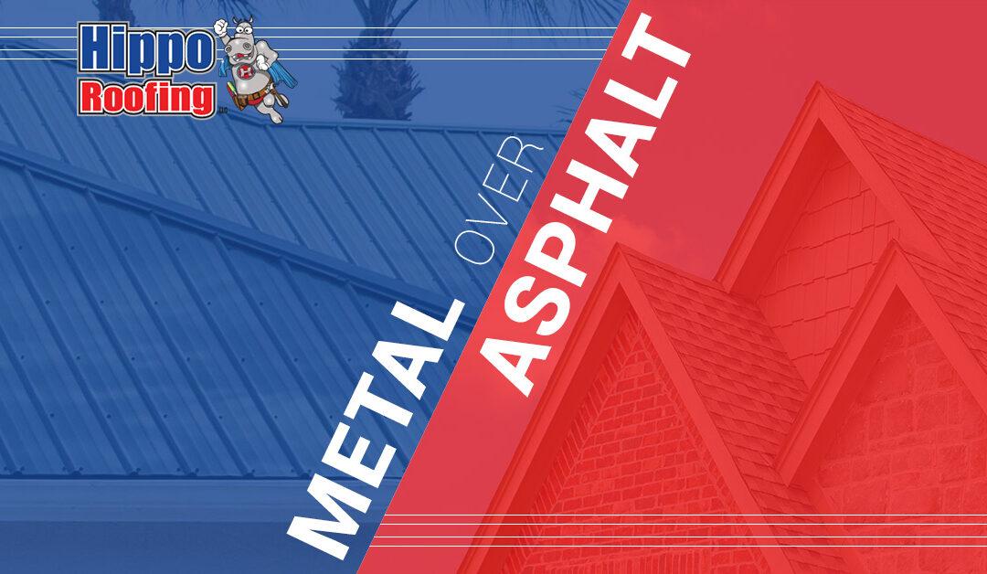 Choose Metal Roofing Over Asphalt Shingles