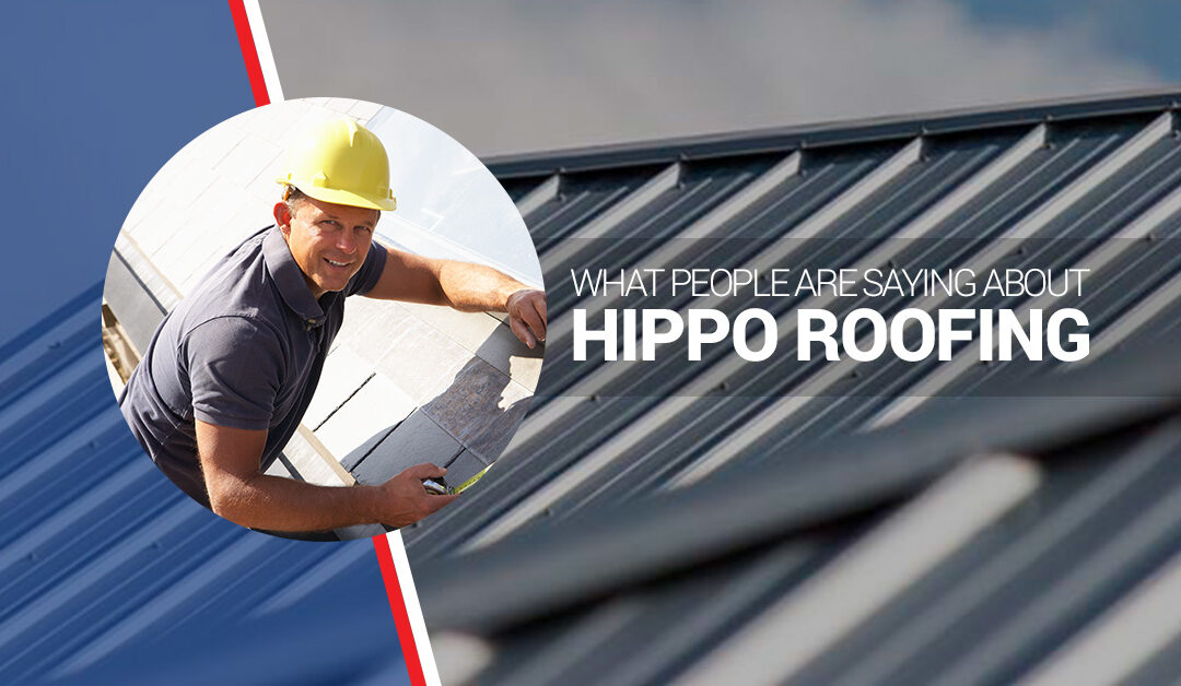 What People Are Saying About Hippo Roofing