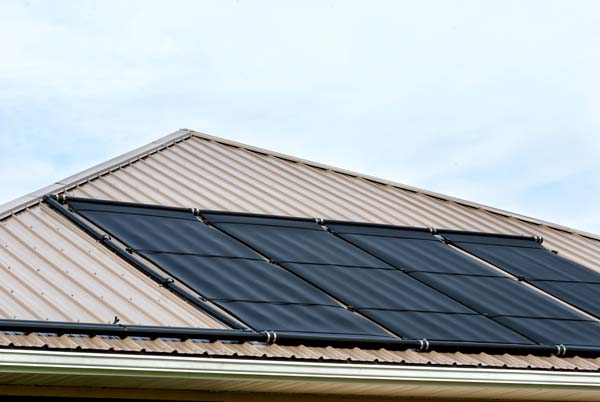 energy efficient roofing option on Florida home