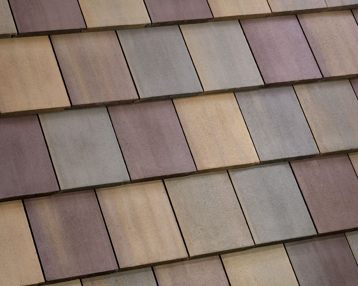 Blomingdale Blend tile roof color swatch