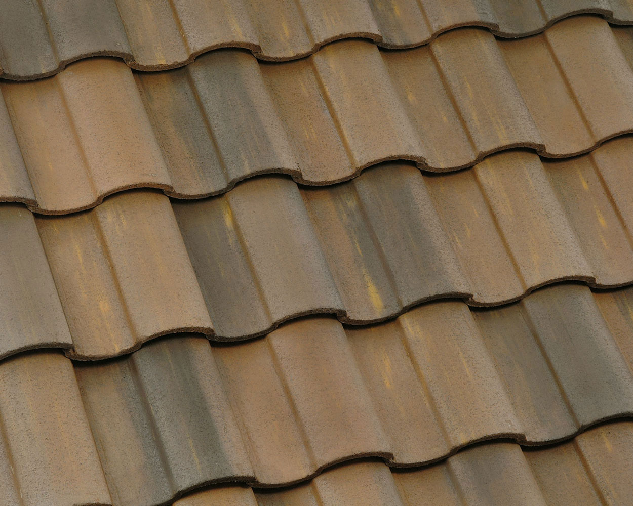 Carlsbad Blend tile roof color swatch