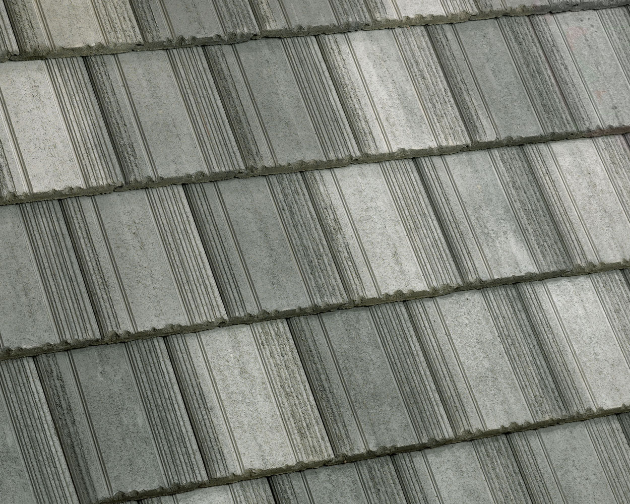 Charcoal tile roof color swatch