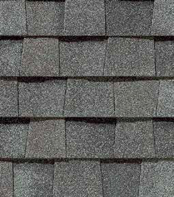 Colonial Slate shingle roof color swatch