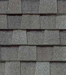 Georgetown Gray shingle roof color swatch