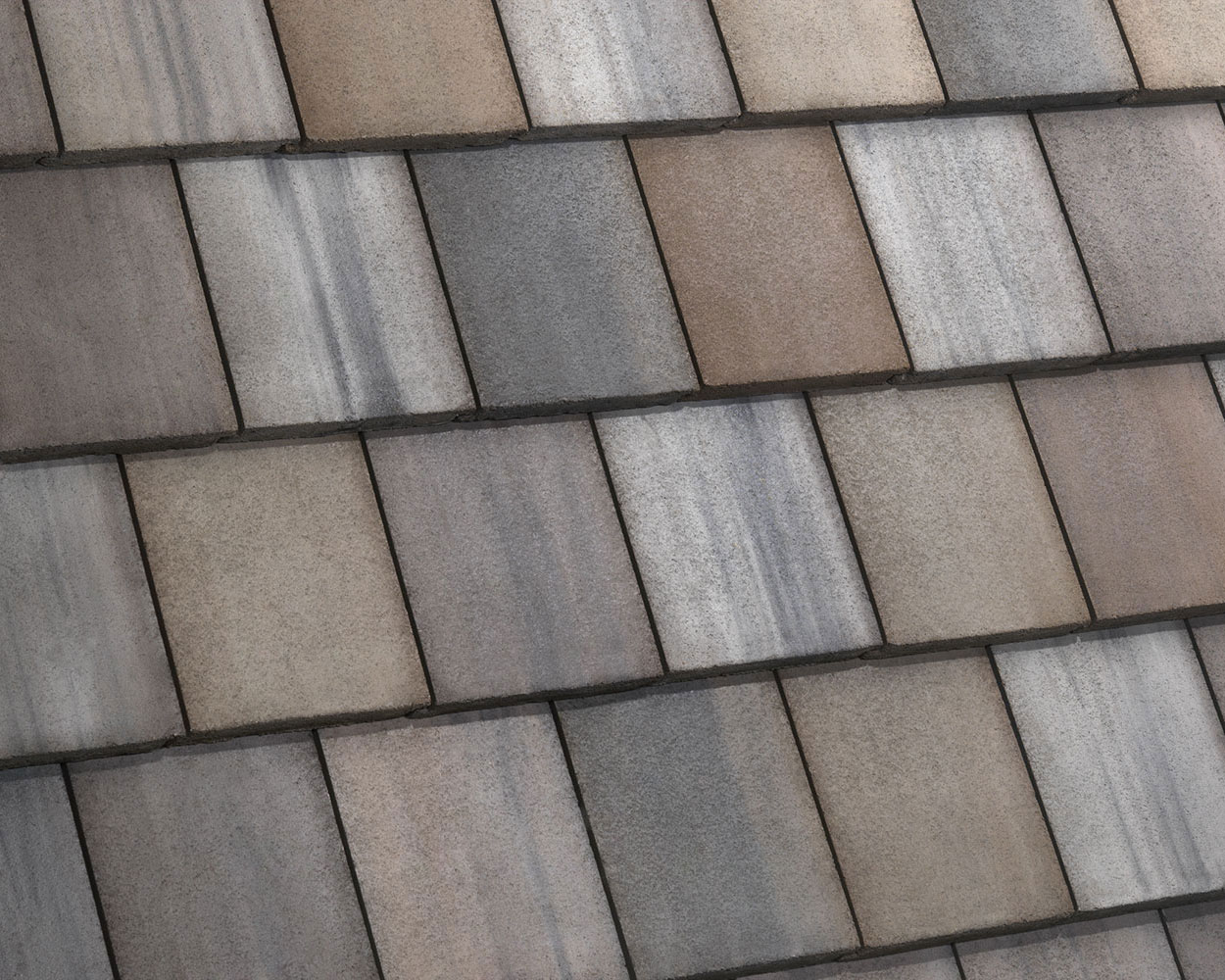 Hillsborough blend tile roof color swatch
