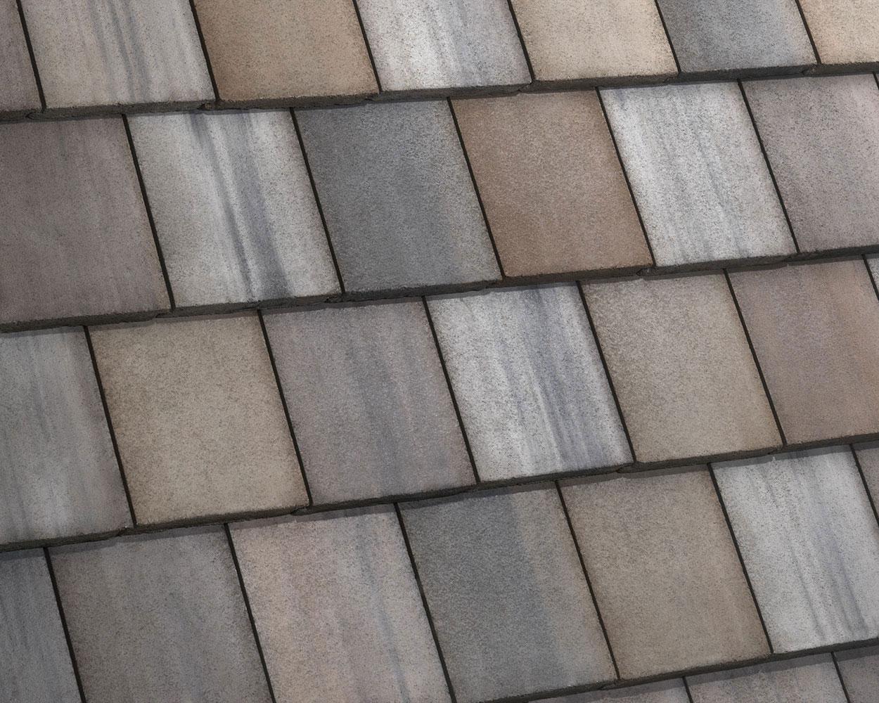 Hillsborough blend tile roof color swatch