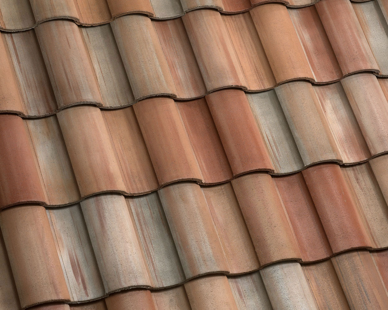 Juno blend tile roof color swatch