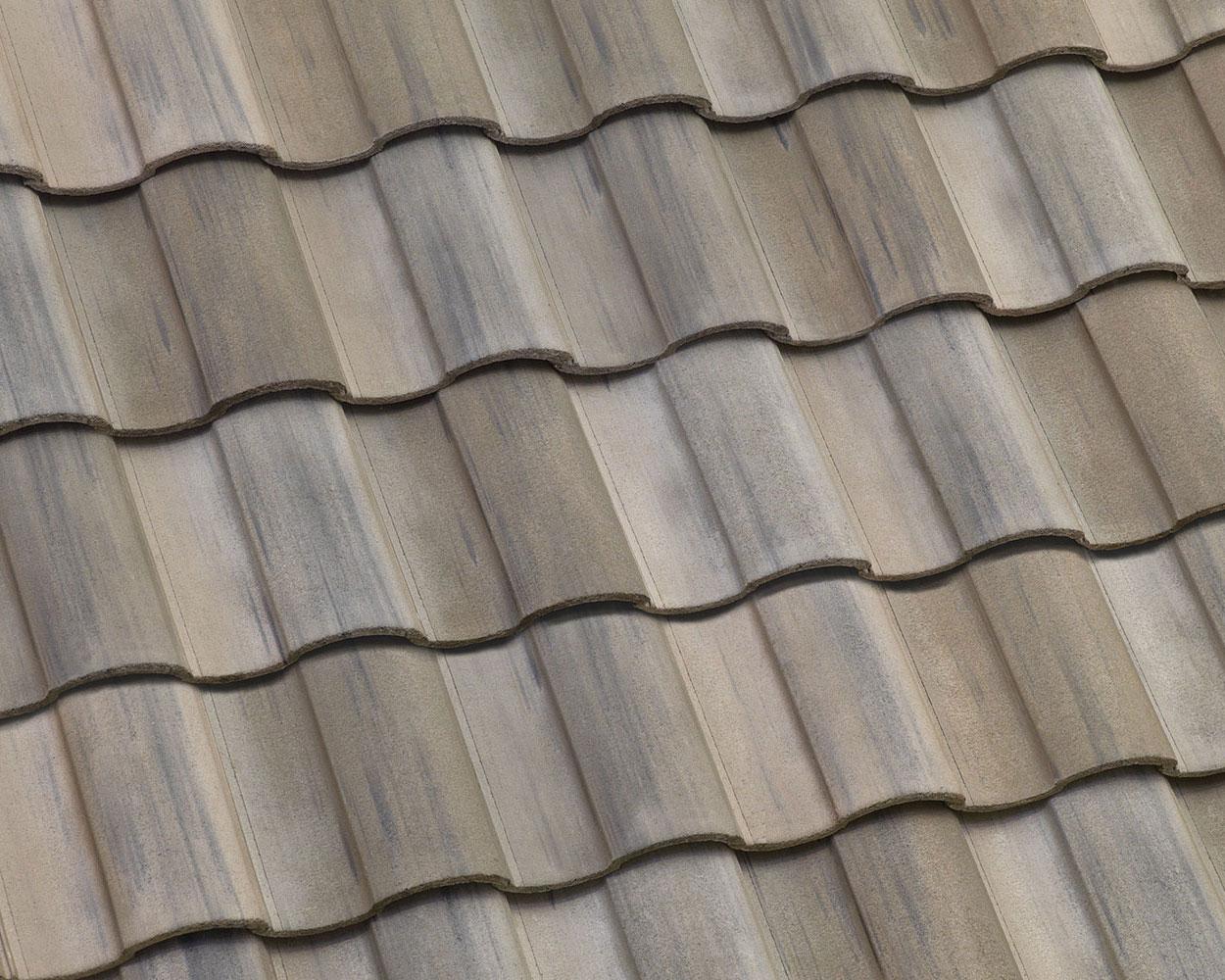 Lakeport blend tile roof color swatch