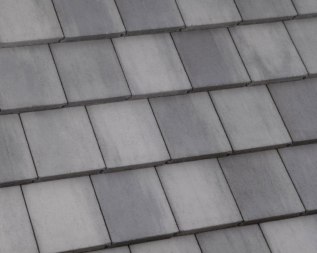 Light gray range tile roof color swatch