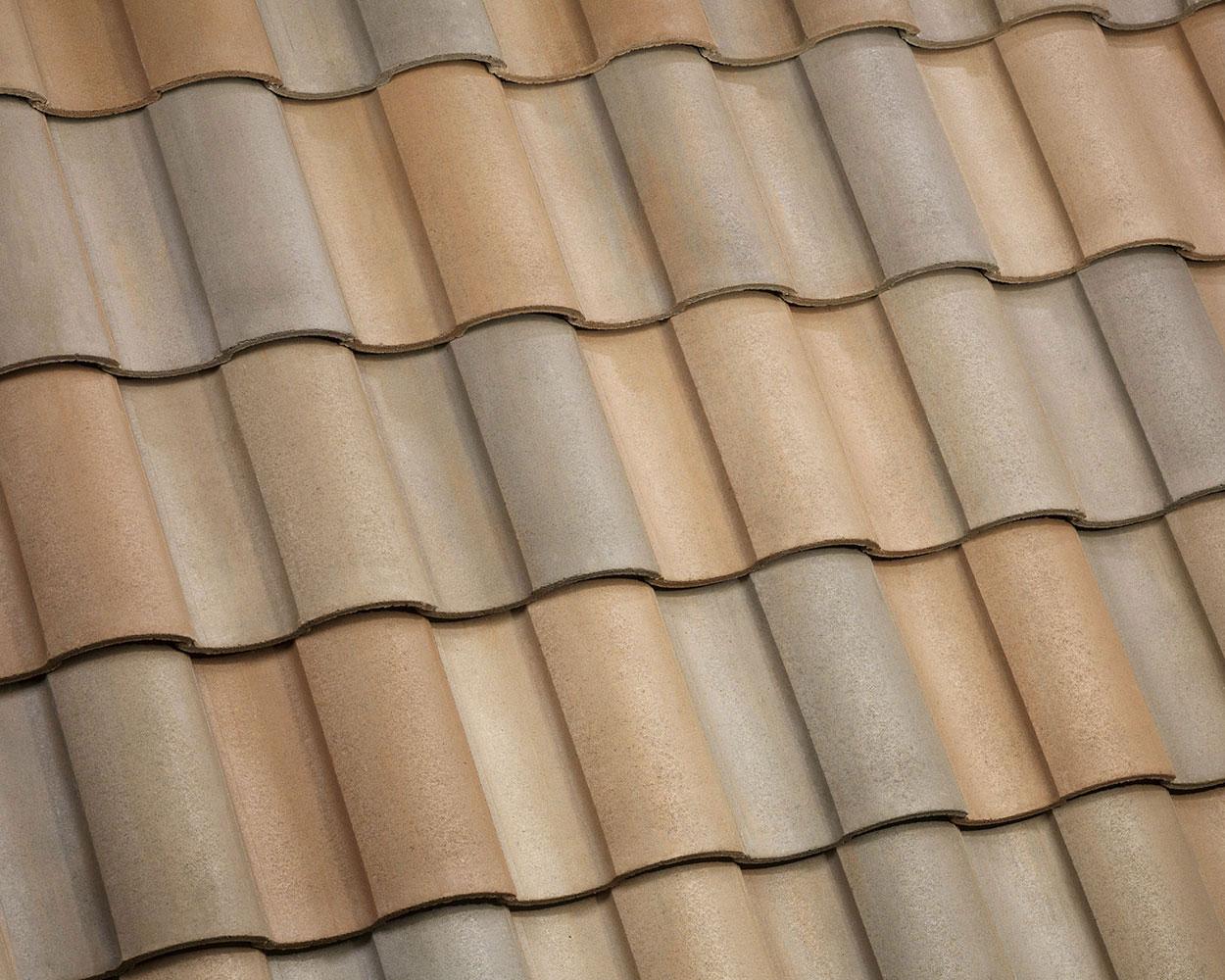 Maple creek blend tile roof color swatch