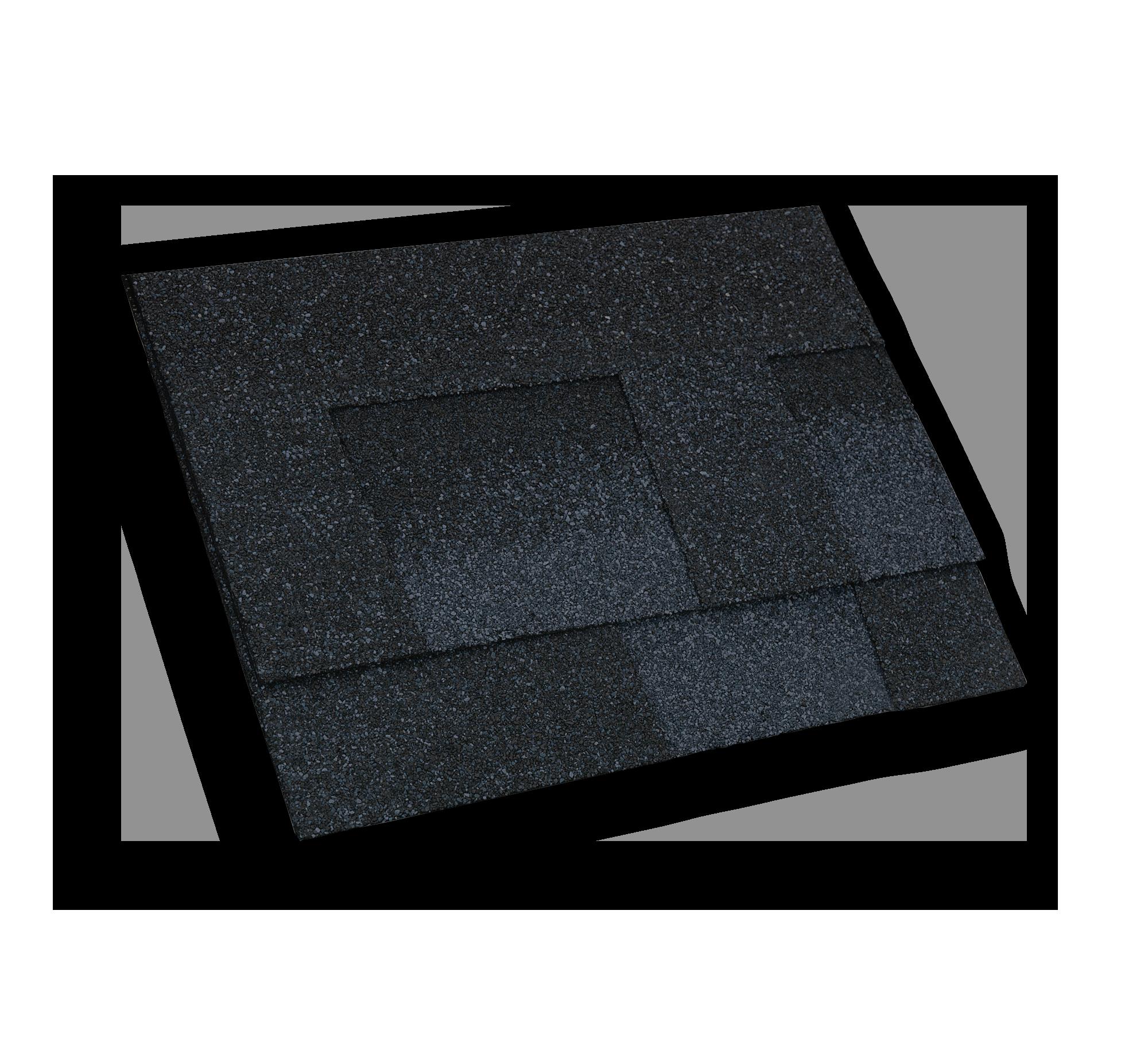 Moire Black Shingle roof
